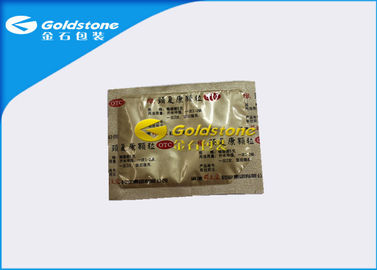 Çin Aluminium Material Pharmaceutical Sachets Packaging With Colorful Printing Surface Fabrika